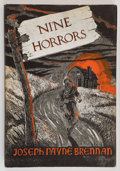 Books:Horror & Supernatural, Joseph Payne Brennan. Nine Horrors. Sauk City, Wisconsin: Arkham House, 1958. First edition. Octavo. 120 pages p...