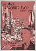 Books:Horror & Supernatural, H. P. Lovecraft & Divers Hands. The Dark Brotherhood and Other Pieces. Sauk City, Wisconsin: Arkham House: Publi...