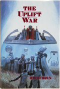 Books:Science Fiction & Fantasy, David Brin. The Uplift War. West Bloomfield, Michigan: Phantasia Press, [1987]. First trade edition. Signed by B...