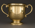 Silver Holloware, American:Cups, A TIFFANY & CO. SILVER GILT TROPHY CUP . Tiffany & Co., NewYork, New York, circa 1950 . Marks: TIFFANY & CO., MAKERSSTER...