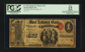 National Bank Notes:Tennessee, Knoxville, TN - $1 Original Fr. 380 The First NB Ch. # 391. ...
