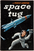 Books:Science Fiction & Fantasy, Murray Leinster. Space Tug. Chicago: Shasta Publishers,[1953]. First edition. Signed by the author and illust...