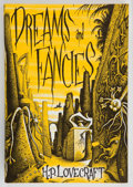 Books:Horror & Supernatural, H. P. Lovecraft. Dreams and Fancies. Sauk City, Wisconsin:Arkham House: Publishers, 1962. First edition. Octavo...