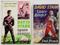 Books:First Editions, Paul French [Isaac Asimov]. Two David Starr: Space RangerFirst Edition Books, including: Garden City: Doubleday... (Total: 2Items)