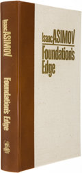 Books:Signed Editions, Isaac Asimov. Foundation's Edge. [Binghamton]: Whispers Press, 1982. First edition, limited to 1000 numbered copies ...