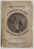 Books:Science Fiction & Fantasy, Jules Verne. A Journey to the Centre of the Earth. New York:Scribner, Armstrong & Co., [n. d., before 1875]. Ea...