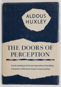 Books:First Editions, Aldous Huxley. The Doors of Perception. [New York]: Harper& Brothers, [1954]. First edition, first printing. Octavo...
