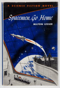 Books:First Editions, Milton Lesser. Spacemen, Go Home. Philadelphia: Winston,[1961]. First edition, first printing. Octavo. 221 pages. P...