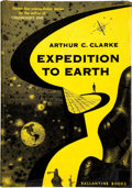 Books:First Editions, Arthur C. Clarke. Expedition to Earth. New York: BallantineBooks, [1953]. First edition. Octavo. 165 pages. Publish...