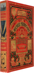 Books:First Editions, Jules Verne. Michel Strogoff. Paris: J. Hetzel, [n. d.,1895]. First edition. Quarto. [8], 368 pages. Publisher's or...