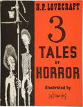 Books:Horror & Supernatural, H. P. Lovecraft. 3 Tales of Horror. [Sauk City]: ArkhamHouse, [1967]. First edition, first printing. Octavo. 134 pa...