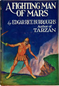 Books:First Editions, Edgar Rice Burroughs. A Fighting Man of Mars. New York:Metropolitan, [1931]. First edition. Octavo. 319 pages. Publ...