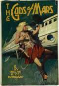 Books:First Editions, Edgar Rice Burroughs. The Gods of Mars. Chicago: McClurg,1918. First edition. Octavo. 348 pages. Publisher's red cl...