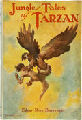Books:Science Fiction & Fantasy, Edgar Rice Burroughs. Jungle Tales of Tarzan. Chicago: A. C. McClurg & Co., 1919. First edition, first printing. Oct...