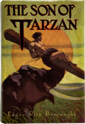 Books:Science Fiction & Fantasy, Edgar Rice Burroughs. The Son of Tarzan. Chicago: A. C.McClurg and Co., 1917. First edition, first state, lacking t...