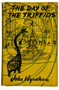 Books:First Editions, John Wyndham. The Day of the Triffids. London: MichaelJoseph, [1951]. First British edition. Octavo. 302 pages. Pub...