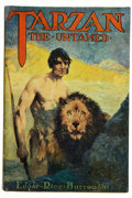 Books:Science Fiction & Fantasy, Edgar Rice Burroughs. Tarzan the Untamed. Chicago: A. C. McClurg & Co., 1920. First edition. Octavo. [viii], 428...