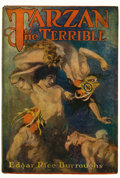 Books:Science Fiction & Fantasy, Edgar Rice Burroughs. Tarzan the Terrible. Chicago: A.C.McClurg & Co., 1921. First edition. Octavo. [viii], 408 pag...