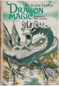 Books:Signed Editions, Andre Norton. Dragon Magic. Cleveland: World Publishing Company, [1972]. First edition. Inscribed by the author to...