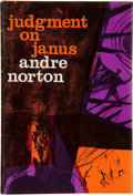 Books:Signed Editions, Andre Norton. Judgement on Janus. New York: Harcourt, Brace& World, [1963]. First edition. Signed by the author...
