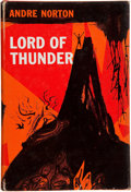 Books:Signed Editions, Andre Norton. Lord of the Thunder. New York: Harcourt, Brace & World, [1962]. First edition. Signed by the author...