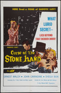 "Movie Posters:Horror, Curse of the Stone Hand (A.D.P., 1965). One Sheet (27"" X 41""). Horror.. ..."