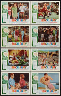 """Movie Posters:Comedy, Beach Party (American International, 1963). Lobby Card Set of 8(11"""" X 14""""). Comedy.. ... (Total: 8 Items)"""