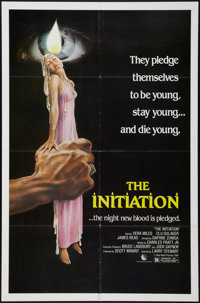 """The Initiation (New World, 1984). One Sheet (27"""" X 41""""). Horror"""