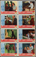 """Movie Posters:Horror, How to Make a Monster (American International, 1958). Lobby Card Set of 8 (11"""" X 14"""") and Hardcover Book (288 Pages, 6.25"""" X... (Total: 9 Items)"""