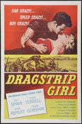 "Movie Posters:Bad Girl, Dragstrip Girl (American International, 1957). One Sheet (27"" X41"") and Hardcover Book (288 Pages, 6.25' X 9.25""). Bad Girl...(Total: 2 Items)"