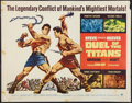 "Movie Posters:Action, Duel of the Titans & Other Lot (Paramount, 1963). Half Sheets(2) (22"" X 28""). Action.. ... (Total: 2 Items)"