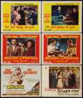 "Movie Posters:War, Never So Few and Others Lot (MGM, 1959). Title Lobby Card and Lobby Cards (5) (11"" X 14""). War.. ... (Total: 6 Items)"