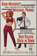 """Movie Posters:Drama, Bus Riley's Back in Town (Universal, 1965). One Sheet (27"""" X 41""""). Drama.. ..."""
