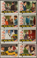 """Movie Posters:Drama, I'll Never Forget You (20th Century Fox, 1951). Lobby Card Set of 8 (11"""" X 14""""). Drama.. ... (Total: 8 Item)"""
