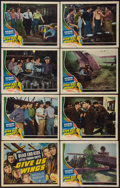 "Movie Posters:Adventure, Give Us Wings (Universal, 1940). Lobby Card Set of 8 (11"" X 14""). Adventure.. ... (Total: 8 Items)"