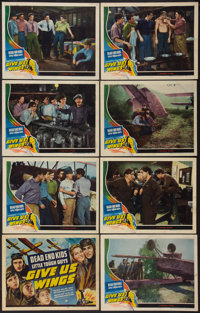 "Give Us Wings (Universal, 1940). Lobby Card Set of 8 (11"" X 14""). Adventure. ... (Total: 8 Items)"