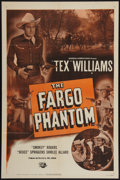 "Movie Posters:Western, The Fargo Phantom (Universal International, 1950). One Sheet (27"" X 41""). Western.. ..."
