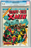 Bronze Age (1970-1979):Superhero, Giant-Size X-Men #1 (Marvel, 1975) CGC VF/NM 9.0 Off-white to white pages....