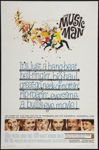 "The Music Man (Warner Brothers, 1962). One Sheet (27"" X 41""). Musical"