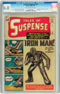 Silver Age (1956-1969):Superhero, Tales of Suspense #39 (Marvel, 1963) CGC FN 6.0 Cream to off-white pages....