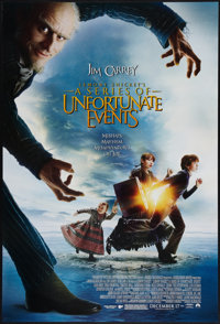 "Lemony Snicket's A Series of Unfortunate Events and Other Lot (Paramount, 2004). One Sheets (3) (27"" X 40"") DS..."
