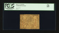 Colonial Notes:Continental Congress Issues, Continental Currency February 17, 1776 $1/6 PCGS Fine 15.. ...
