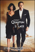 "Movie Posters:James Bond, Quantum of Solace (MGM, 2008). One Sheet (27"" X 40""). James Bond SSAdvance.. ..."