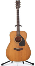 Musical Instruments:Acoustic Guitars, 1970's Yamaha FG-180 Natural Acoustic Guitar #1459357...