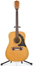 Musical Instruments:Acoustic Guitars, 1960's Framous Texan Natural Acoustic Guitar #51766...