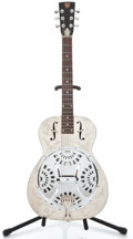 Musical Instruments:Resonator Guitars, 1970's Dobro Dulion Chrome Resonator Guitar ...