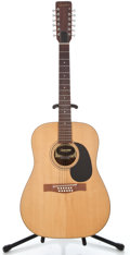 Musical Instruments:Acoustic Guitars, 1974 Giannini AWS-680 Natural 12 String Acoustic Guitar #031974...