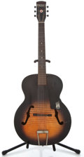 Musical Instruments:Acoustic Guitars, 1950's Harmony Monterrey Sunburst Archtop Acoustic Guitar ...