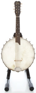 Musical Instruments:Banjos, Mandolins, & Ukes, 1900's May-Bell Banjolin Natural Mandolin ...