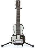 Musical Instruments:Lap Steel Guitars, 1940's Rickenbacker Bakelite 7-String Black Lap Steel Guitar ...